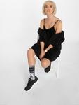 Urban Classics Velvet Slip Dress Beige image number 3