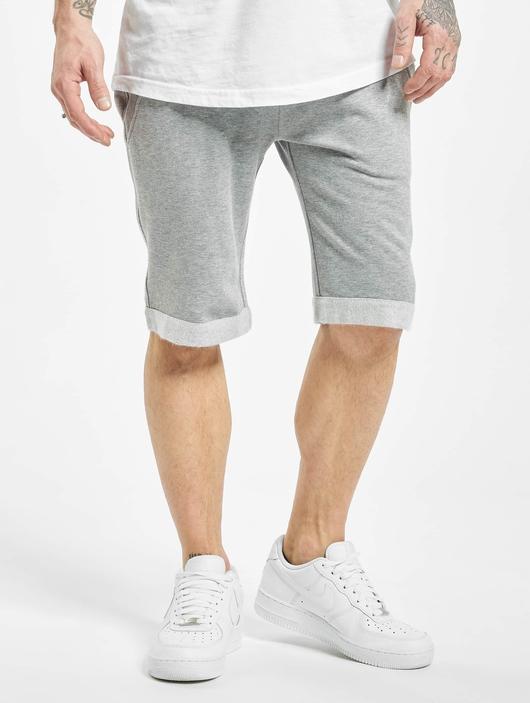 Urban Classics Light Turnup Sweat Shorts Grey image number 2