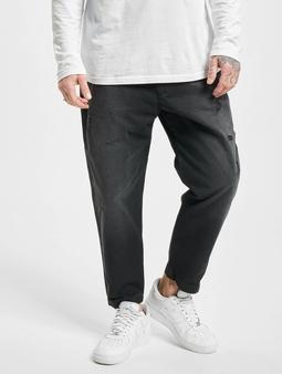 Diesel P-Webbin Straight Fit Jeans svart