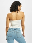 Missguided Jersey Bandeau Corset Body Cream image number 1