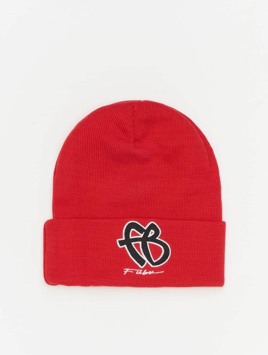 Fubu Basic Beanie Red/Black/White image number 0