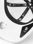 New Era NFL New England Patriots White Base Snapback Caps image number 2