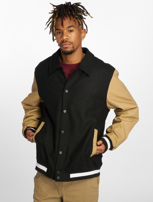 Urban Classics Collar College College Jackets image number 2