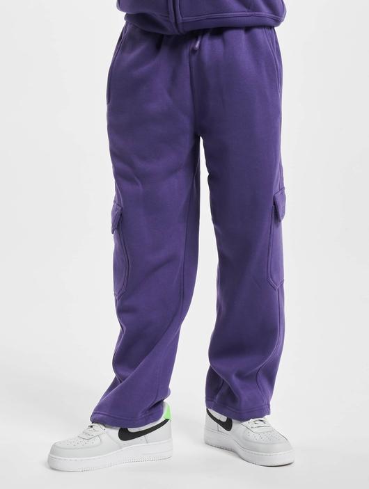 Urban Classics Cargo Sweatpants Purple image number 0