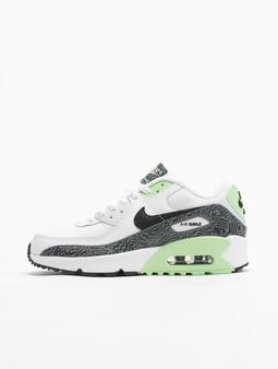 Nike Air Max 90 GS Tøysko hvit
