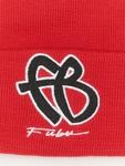 Fubu Basic Beanie Red/Black/White image number 2