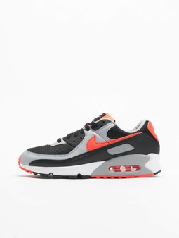 Nike Air Max 90 Sneakers Black/Radiant Red-White-Wolf