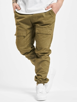 Urban Classics Front Pocket  Chino bukser oliven