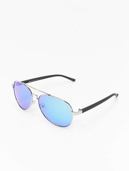 Masterdis Shades Mumbo Mirror Sunglasses Silver/Blue
