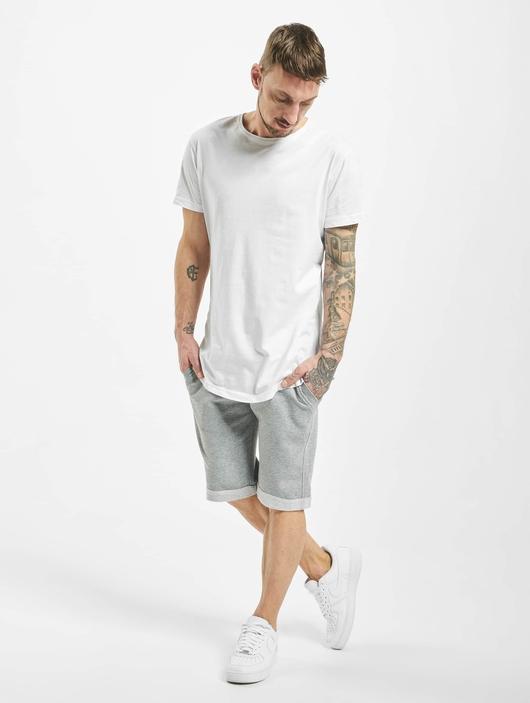 Urban Classics Light Turnup Sweat Shorts Grey image number 5