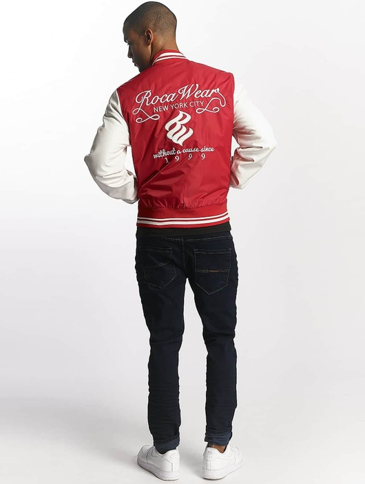 Rocawear College Jacket Red image number 3