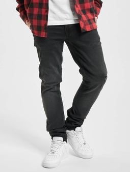 Redefined Rebel Stockholm Skinny Jeans Edgy Black