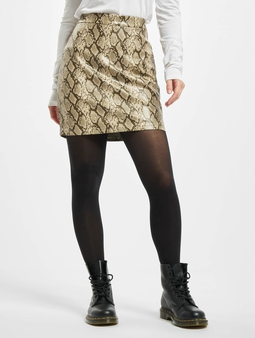 Noisy May nmAllan Snake PU Skirt