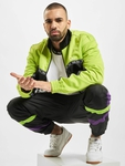 Fila Urban Line Hachiro Track Jacket Acid Lime/Black/Bright White image number 5