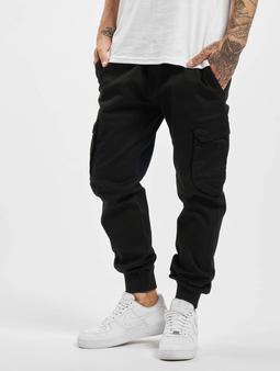 Reell Jeans Reflex Rib Cargo Pants Black