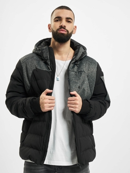 Urban Classics Hooded Tech Bubble Winter Jacket