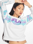 Fila Urban Line Buttoned Justyna Sweatshirt Bright White/Blue Curacao image number 0