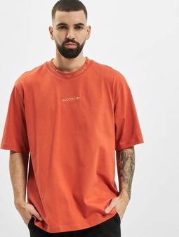 adidas Originals Rib Detail T-skjorter oransje