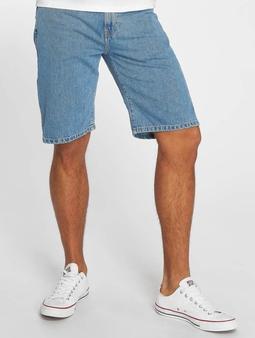 Carhartt WIP Milton Pontiac Shorts Blue Stone Bleached