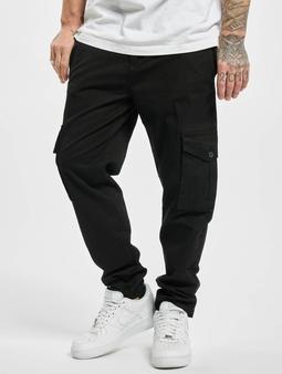 Urban Classics Tapered  Chino bukser svart