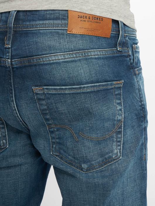 Jack & Jones jjiClark jjOriginal Noos Straight Fit Jeans Blue Denim image number 4