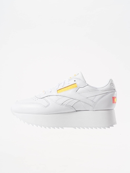 Reebok Classic Leather Double Sneaker White/Nean