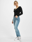 Rock Angel Skinny Jeans Light Blue Denim L143 image number 6