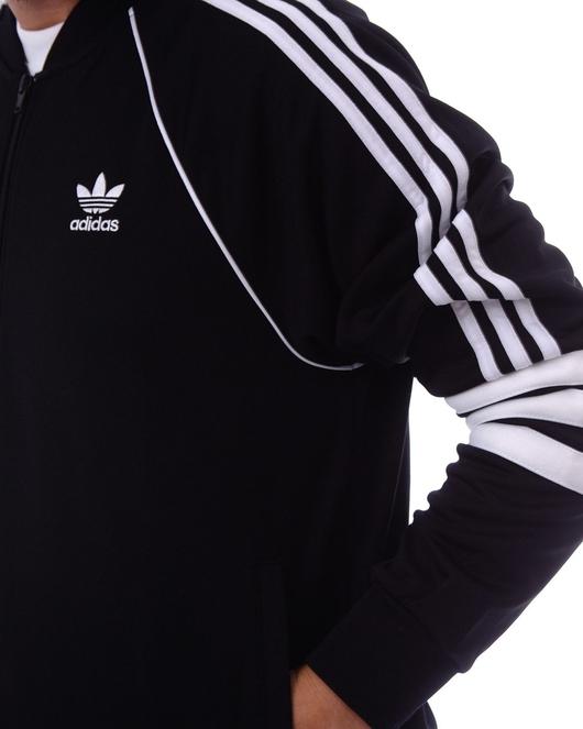 Adidas Originals Auth Tt Transition Jacket Black image number 4