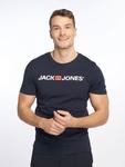 Jack & Jones jjeCorp Logo T-Shirt Light Grey Melange