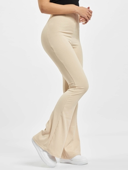 Missguided Ribbed Flare Sweat Pants