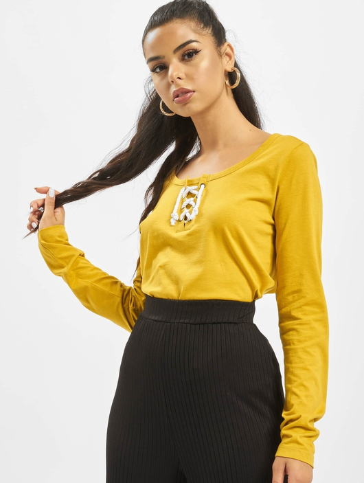 Sublevel Shirt Ochre Yellow image number 0