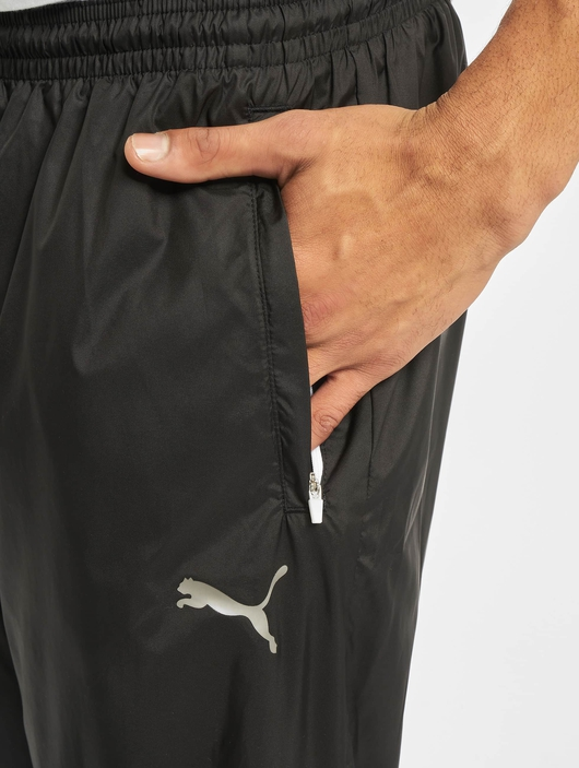 Puma Collective Woven Sweat Pants Puma Black/Puma White image number 4