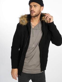 VSCT Clubwear Hooded Luxury Knit Cardigan