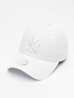New Era MLB NY Yankees Eshortsleeve 9forty Snapback Caps hvit