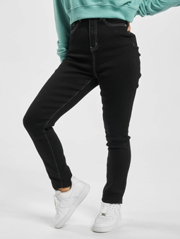 Missguided Mg X Assets Contrast Stitch Sinner Skinny Jeans