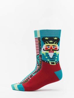 Urban Classics Christmas Nutcracker 3-Pack Socks