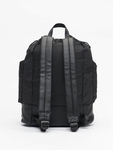 Urban Classics Light Weight Hiking Backpack Black/White image number 2