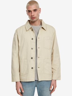 Urban Classics Worker Jacket Concrete