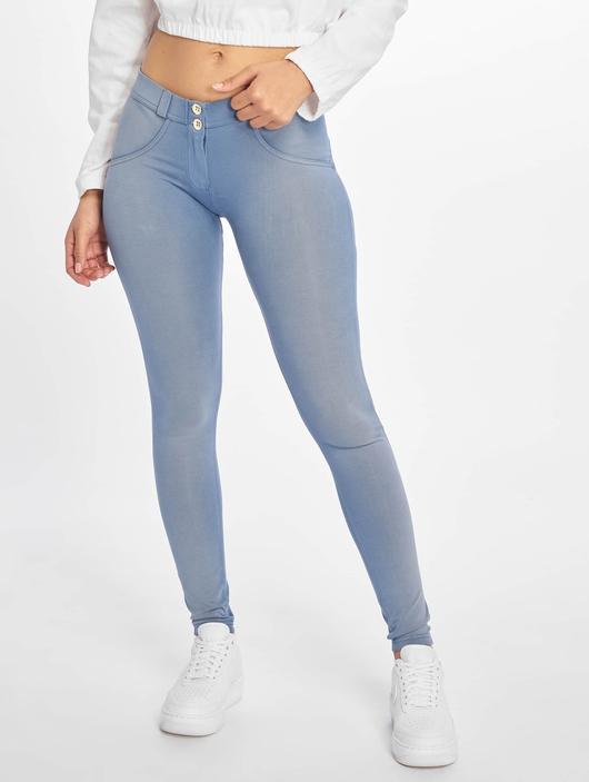 Freddy Regular Waist Super Skinny Jeans Colored image number 1