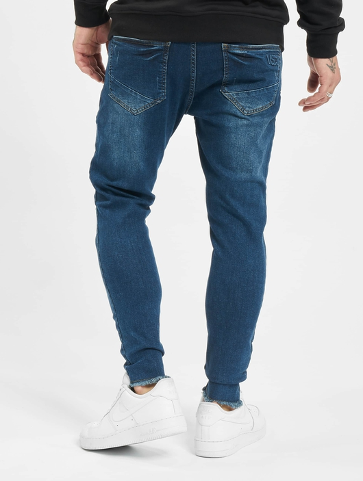 VSCT Clubwear Keanu Slim Fit Jeans Blue Rinsed image number 1