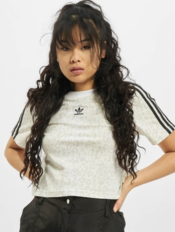 Adidas Originals Cropped T-Shirt Multicolor/White/Talc