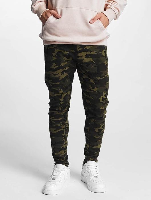 Urban Classics Interlock Camo Sweatpants Wood Camouflage image number 0