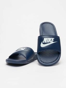 Nike Benassi JDI Sandals White/White/Mystic
