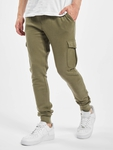 Urban Classics Fitted Cargo Sweatpants Olive image number 0