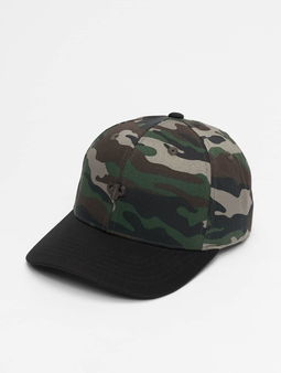 Pelle Pelle Icon Plate Curved Snapback Cap Woodland