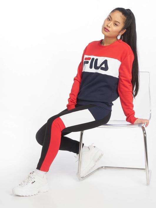 Fila Urban Line Leah Sweatshirt Black Iris/Light Grey/Bright White image number 3