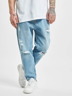 2Y Lowell  Straight Fit Jeans blå