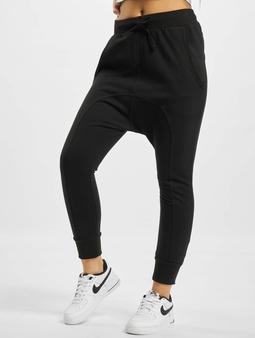 Urban Classics Light Fleece Sarouel Sweat Pants Black