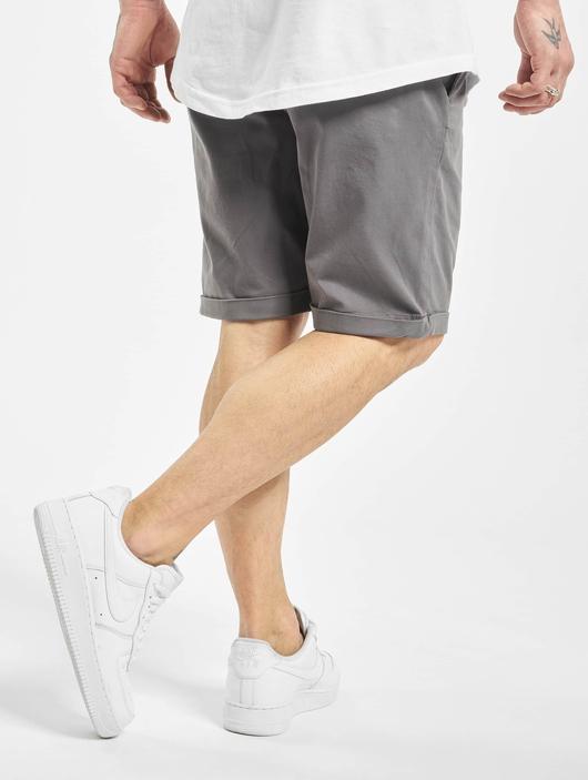 Urban Classics Stretch Turnup Chino Shorts Dark Olive image number 1