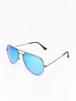 Masterdis Pure AV Polarized Mirror Sunglasses Gun/Blue